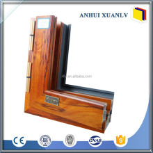 Aluminum extrusion glass door and window frame