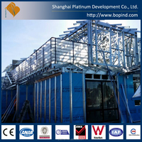 Prefabricated economical light steel framing structure villa house