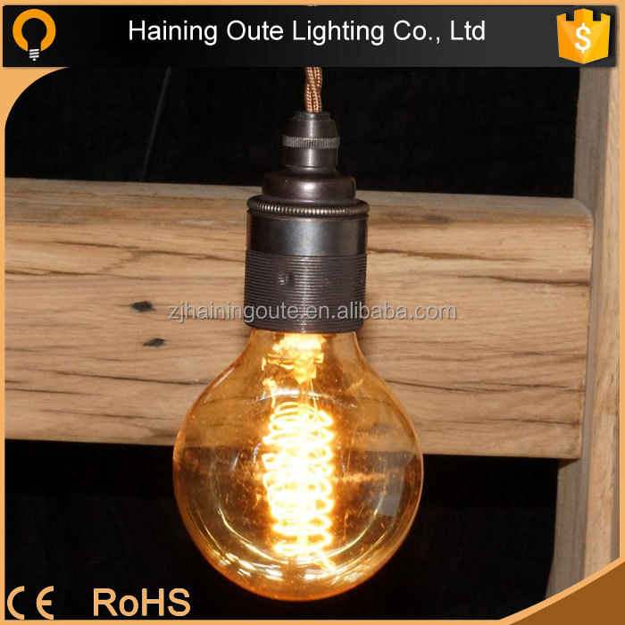 2015 popular loft country style hanging industrial vintage restaurant metal pendant lamp