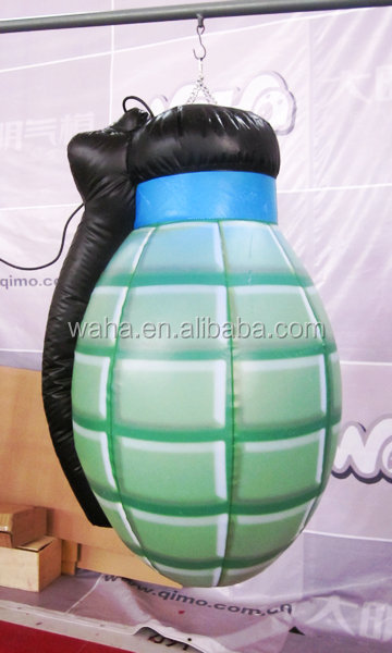 inflatable advertising replicas model hand grenade