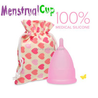 2015 New Products large volum female menstrual cup