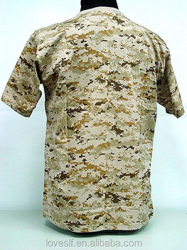 loveslf military used army clothing combat shirt for men