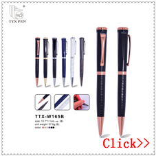 Promotional logo promotional items new metal gift pen for men