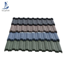 New design terrabella classic stone coated metal roof tile made in China