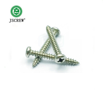 m3 m4 m5 phillip pan head galvanized self tapping wood screw