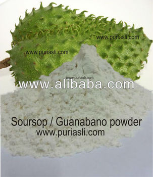Soursop / Guanabano / Durian Belanda Powder from Fruits