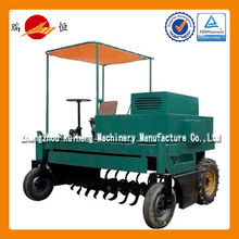 China best selling best selling windrow mobile compost turner machine compost machine