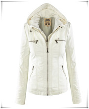 Hottest Sale Fashion White Women hoodie Jacket Cool Style Design