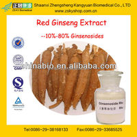 GMP Certified Manufacturer Supply Natural Red Ginseng Root Extract