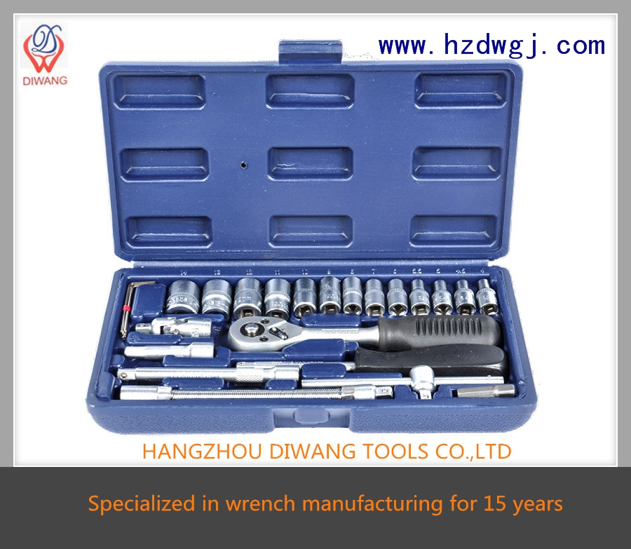 "hot sale high quality allen household 25pcs wrench set (1/4"")"