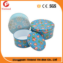 Christmas Cookie /Biscuit Round Tin Box