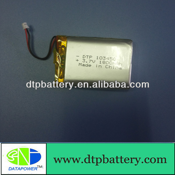1500mAh 3.7V lithium ion battery/lithium polymer battery 120mah, lithium polymer battery,