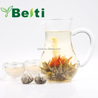 Chinese organic green artistic blooming flower tea EU standard