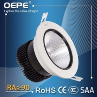High Power High CRI 90RA 70W Led Down light Cut Out 120mm recessed Led Ceiling Downlight 3000K 4000K Led Downlight Cob