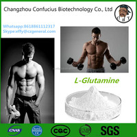 CAS 56-85-9 Sport Nutrition Hormone Powder L-Glutamine powder