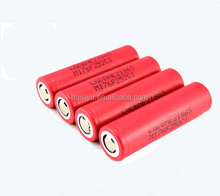 Quality high discharge 35A LG 18650 HE2 3.7V 2500mah rechargeable Li-ion electric bike /car/scooter power tool battery cells