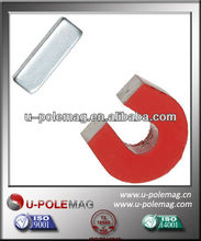 Red Cast AlNiCo 5 Horseshoe Magnet