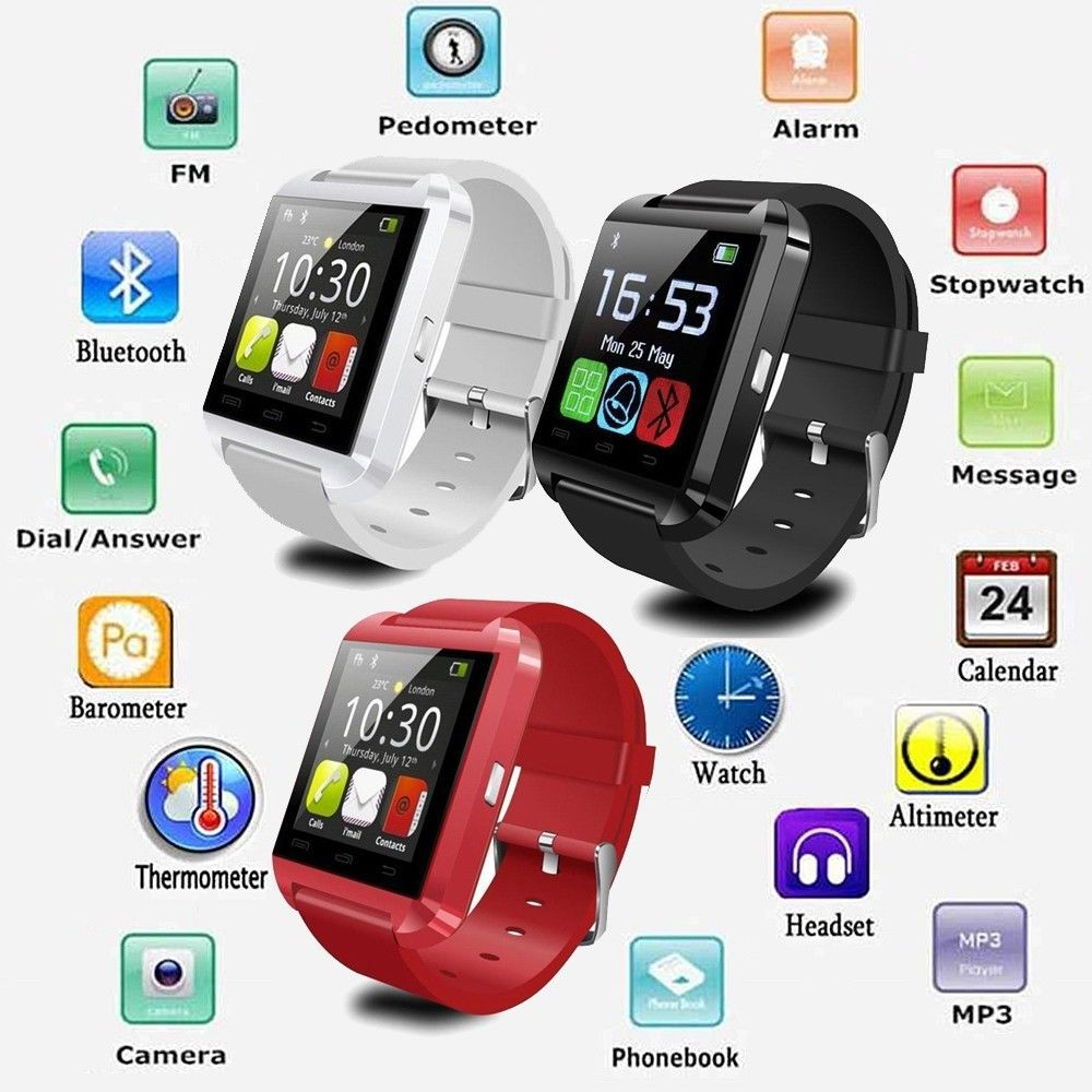 Top sale U8 smart watch 2015 bluetooth smart watch smart watch bluetooth phone