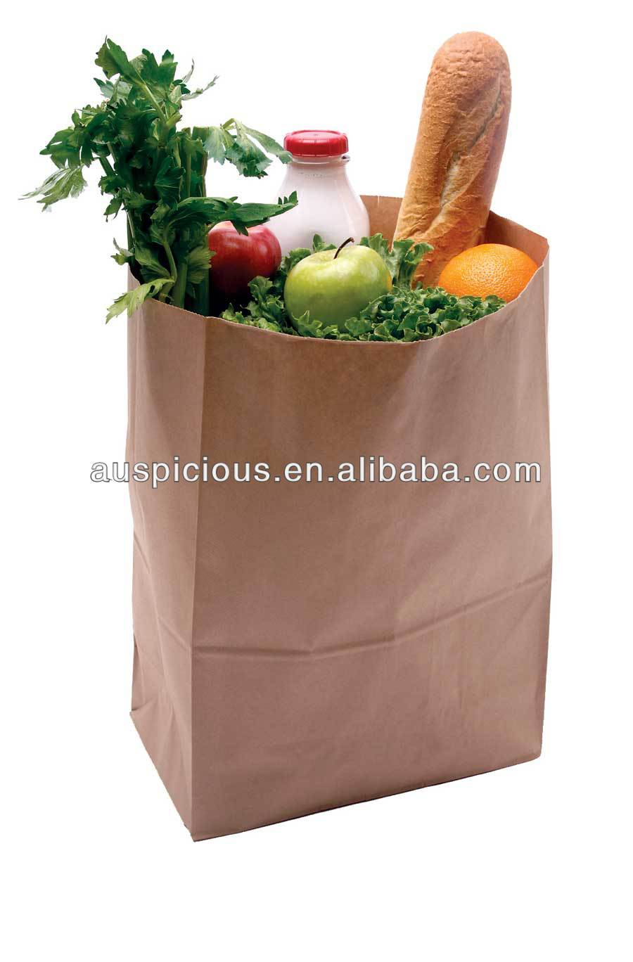 Nice quality kraft paper package bag fried chicken bag