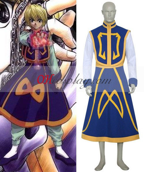 Hunter X Hunter Kuroro Lucifer Blue Cosplay Costume