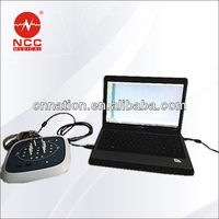 portbale2/4 channels eeg machine usb transmission neurology machine /CE Approved