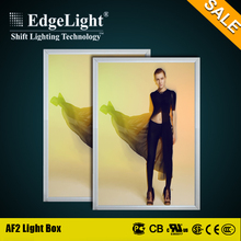 Edgelight AF2 Real Estate Agents LED acrylic snap frame light pockets with trade assurance
