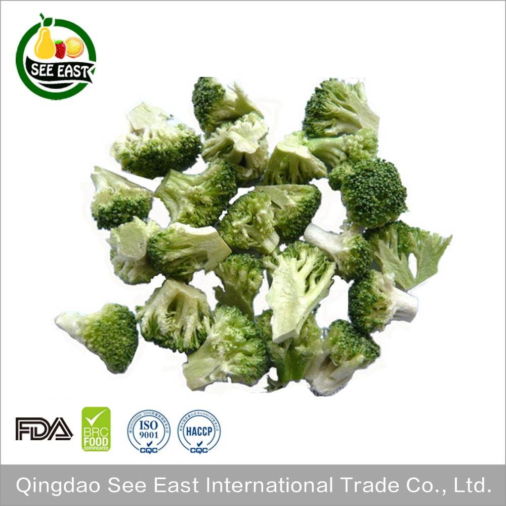 ISO Certified companies manufacturers freeze dried broccoli price with free sample