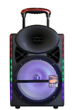 feiyang dj altavoz 12 inch super bass trolley speaker with 2 wireless microphone bluetooth