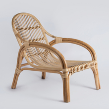 Garden outdoor willow wicker rattan beach lounge chair
