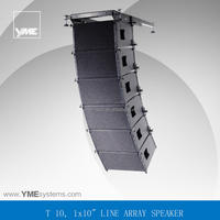T10 pro audio complete sound system 10 inch line array system for rental