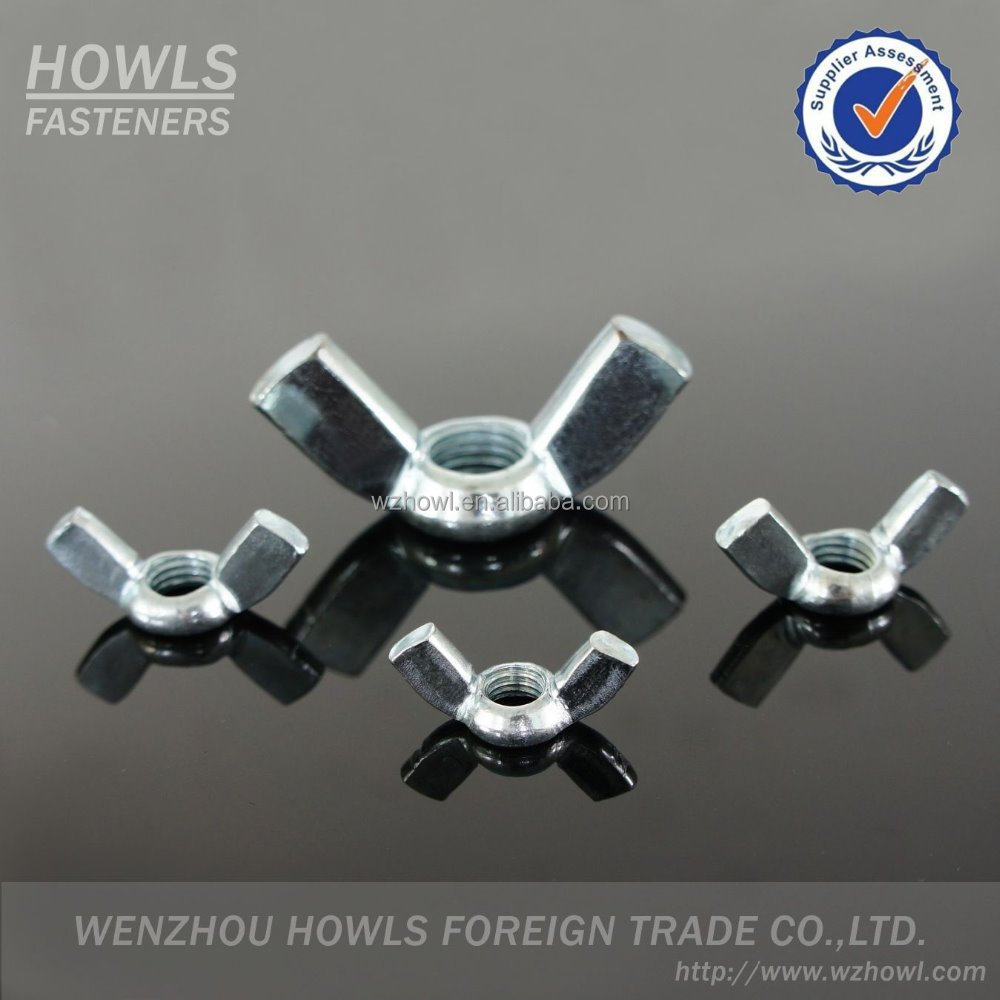 High quality carbon steel DIN 315 butterfly nut