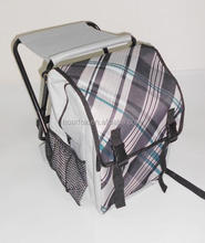 backpack style camping folding cooler chair