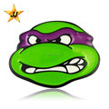 Kids Ninja Turtle Belt Buckle custom logo wholesale mens belt buckles metal