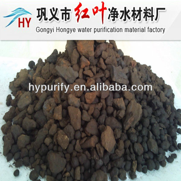 4-8mm/best filter material remove Fe and Mn/MANGANESE SAND FILTER for long-term export