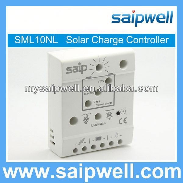 SOC AND VOLTAGE CONTROLLED LVDLCD SOLAR CHARGE CONTROLLER