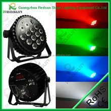 Professional show lighting colored uplight led mini par can