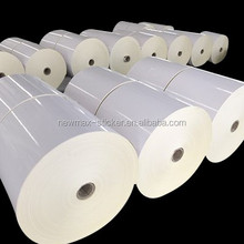 Mirror Kote Acrylic Cast Coated Sticker Paper for Label Printing in Roll