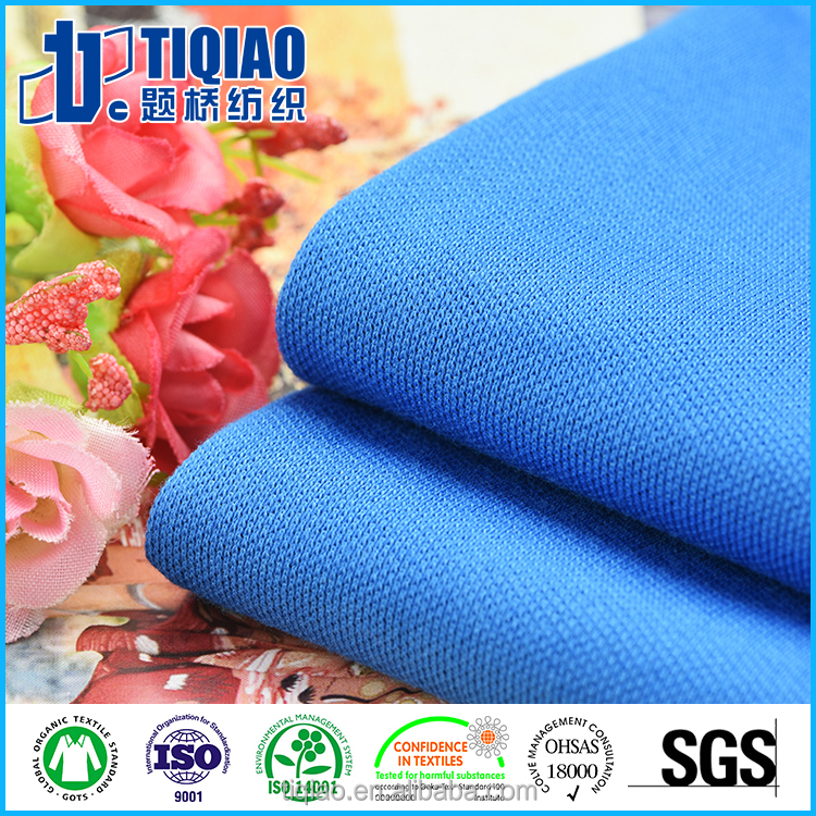 Double pique knitted dyeing fabric with good quality