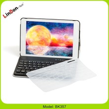 Newest bluetooth keyboard PU leather case for iPad mini, for apple ipad mini PU case with keyboard