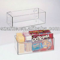 Wall Mounted Acrylic Storage Box With