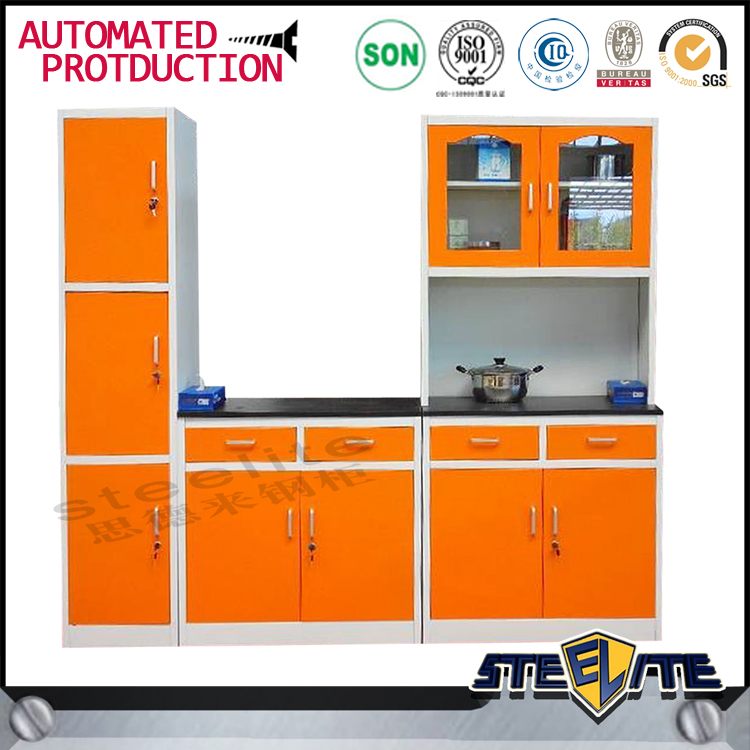 Metal kitchen cabinet/kitchen stainless designs/cheap kitchen cabinet