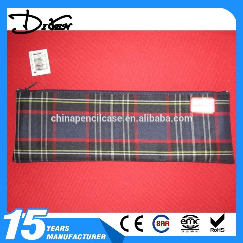 Top Quality rope foldable bag eva pencil case zip and custom logo with great price