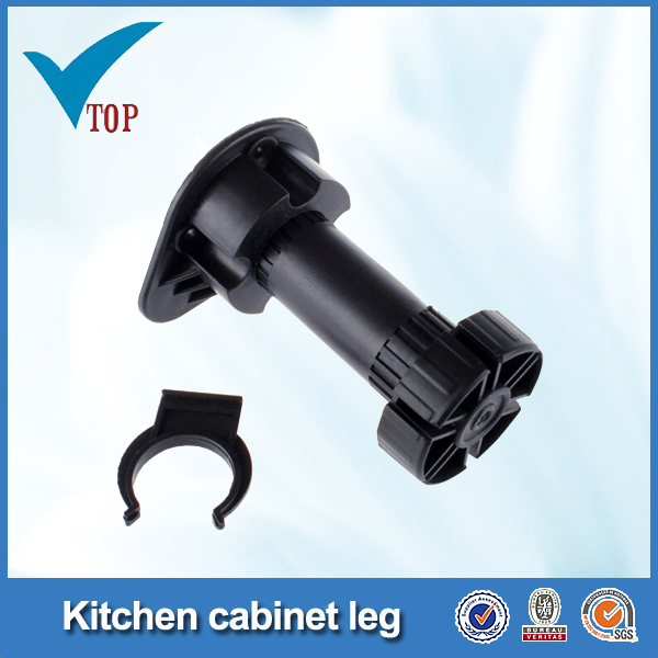 Kitchen accessory adjustable plastic legs for furniture