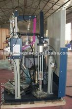 two component spreading machine--polysulphide sealant extruder