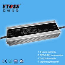 4200mA 140w 150w waterproof electronic led driver for flood light 5 years warranty TUV