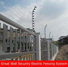 Solar powered perimeter alarm electric fence Intelligent & Durable Security Electric Fence Energizer