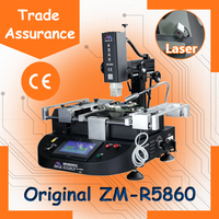 Online Order ! 2016 Latest Original Factory Laser BGA Rework Station ZM-R5860, upgraded with LASER positioning functions