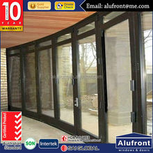 modern house design aluminum glass interior folding windows and doors