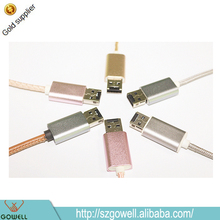 Wholesale For Apple Mini USB Cable High Data Transfer USB 2.0+ U Drives Combined As One Available for iPhone / iPad / Apple Pc