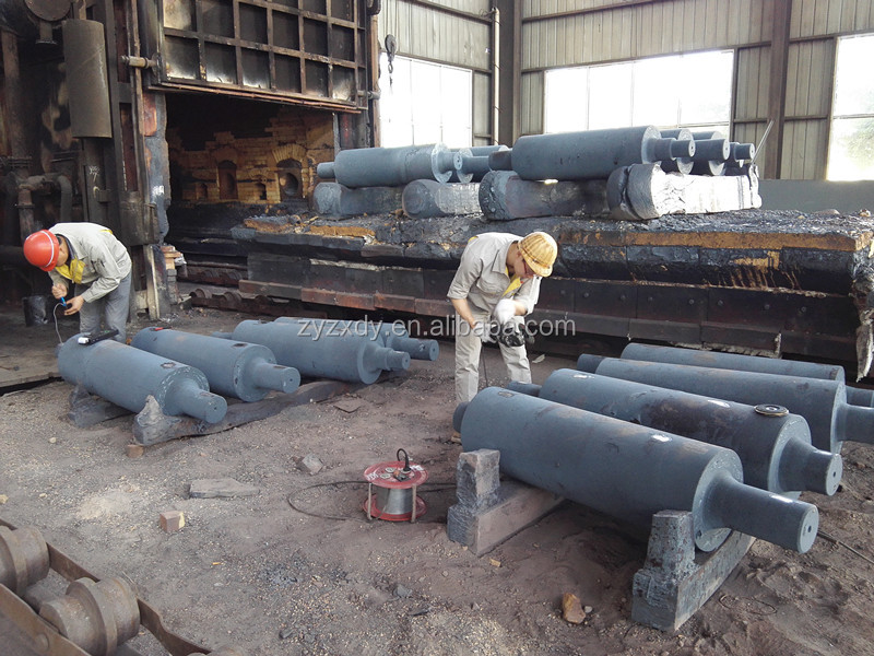 Forged steel working rolls/forged mill roll/forged track roller